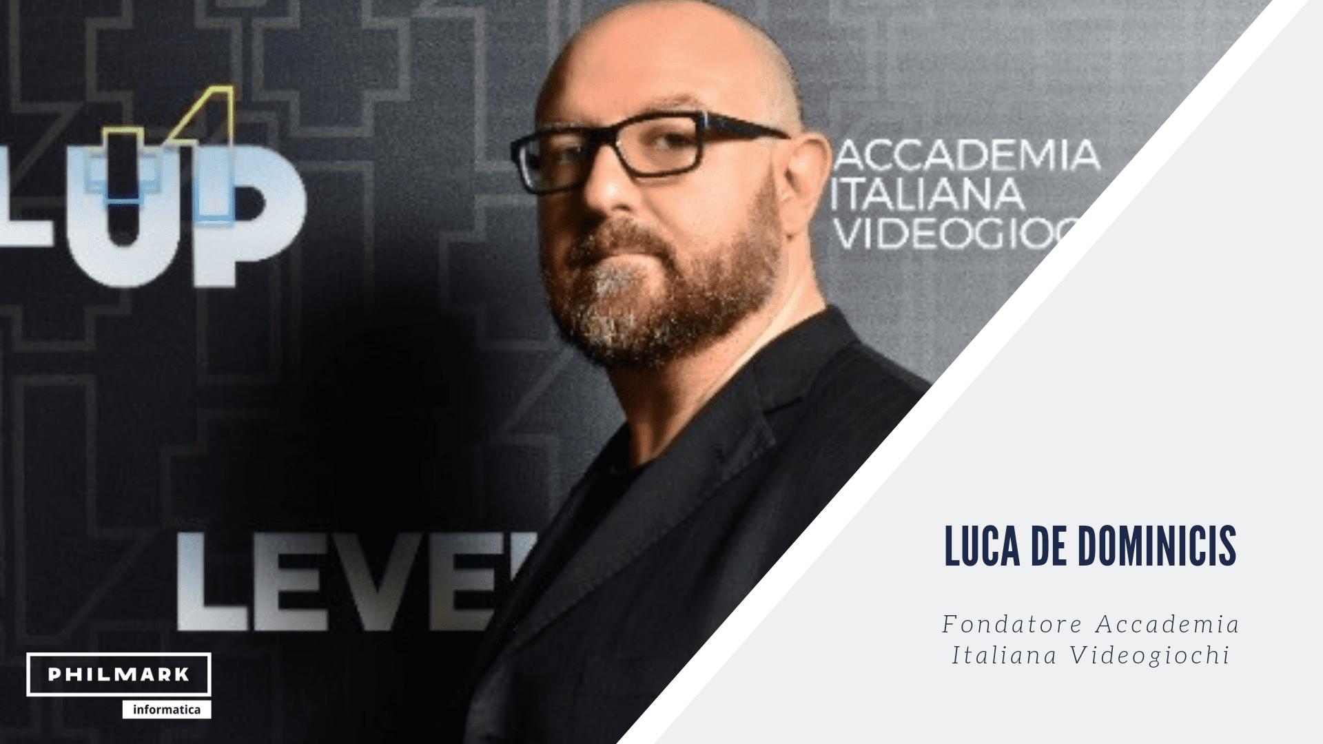"""""""Il mercato del gaming sta superando quello del cinema"""" – Intervista a Luca De Dominicis"""